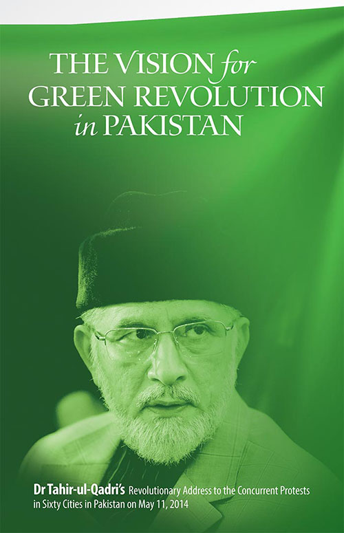 Shaykh-ul-Islam Dr Muhammad Tahir-ul-Qadri The Vision for Green Revolution in Pakistan English Books